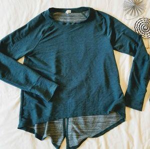 Danskin sweater like long sleeve  A1